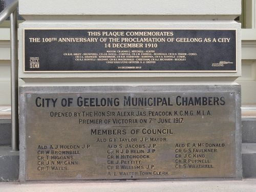 Centenary of the City Proclamation : 28-August-2011