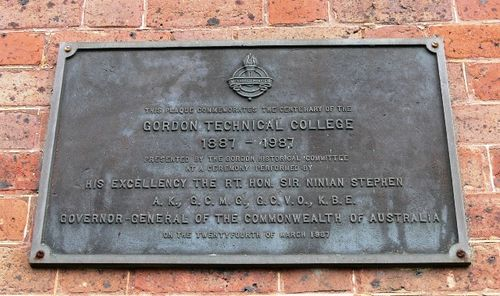 Centenary of the Gordon Technical College : 8-September-2011