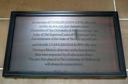 Charles & Clara Lowe : 25-April-2012