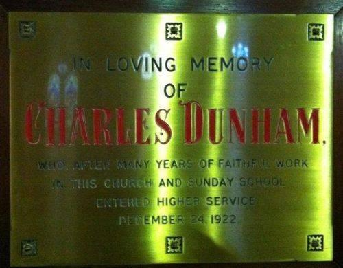 Charles Dunham : 18-July-2012
