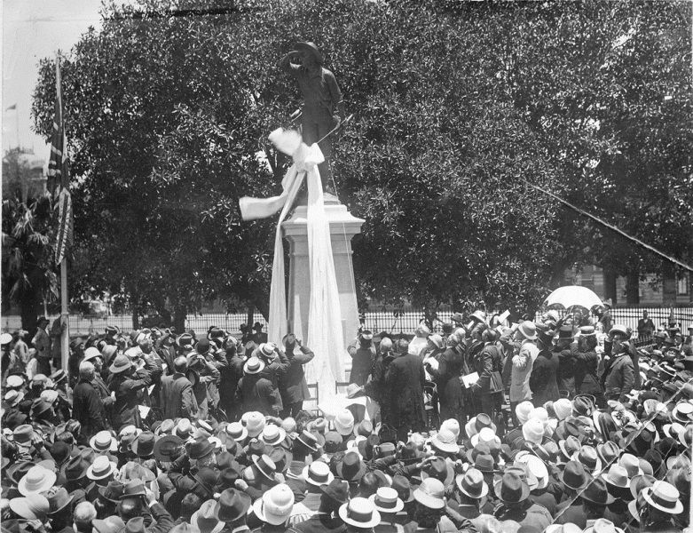 21-December-1916 : Unveiling : State Library of South Australia - PRG-280-1-9-75
