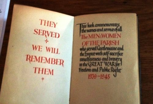 Book of Remembrance : August 2014