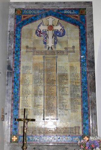 Christ Church Honour Roll : 20-December-2011