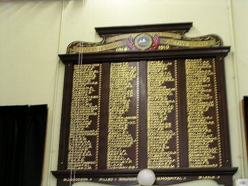 Citizens Of Sandgate Honour Roll