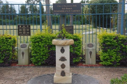 Remembrance Garden : Feb 2014