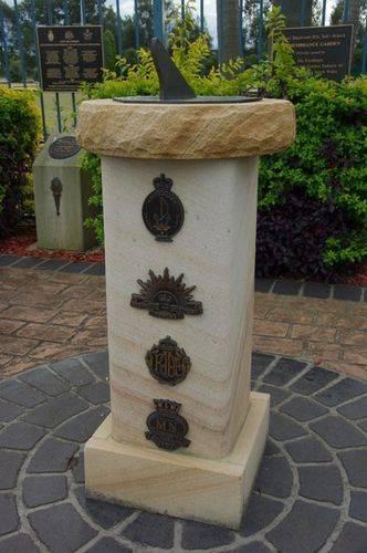 Remembrance Garden Sundial : Feb 2014