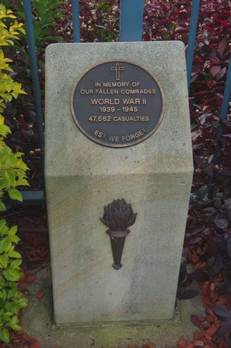 WW2 Plinth : Feb 2014