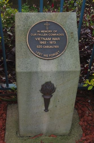 Vietnam War Plinth : Feb 2014