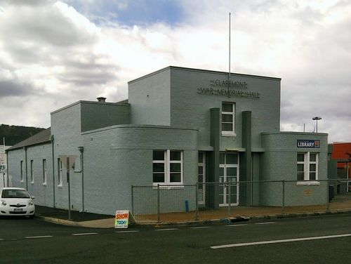 Claremont War Memorial Hall : 14-January-2013