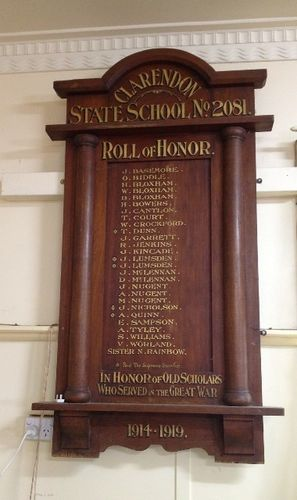 Clarendon State School Honour Roll : November 2013