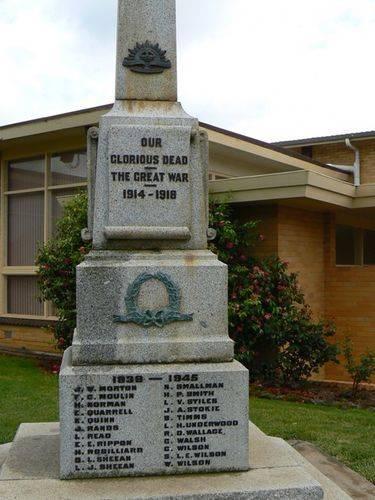 Cobden War Memorial