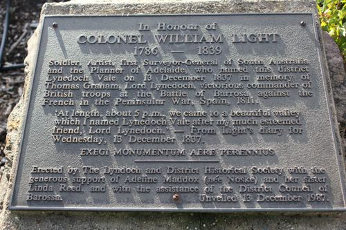 Colonel WIlliam Light : 23-August-2011