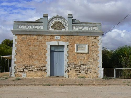 Cooke Plains Memorial Hall