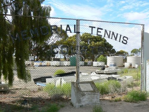 Cooke Plains Memorial Tennis Courts