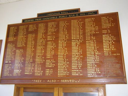 Coonamble Honour Roll : 01-August-2014