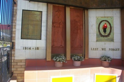 Cootamundra Roll of Honour 1914 1918