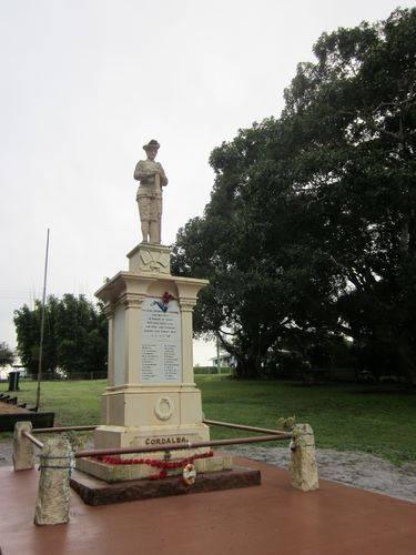 Cordalba War Memorial 2 : 28-06-2012