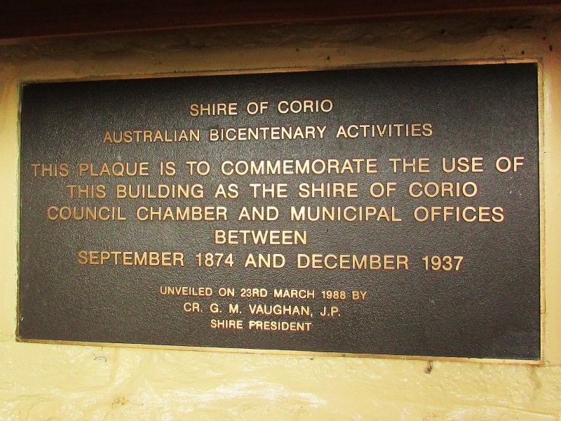 Plaque Inscription : 16-April-2015