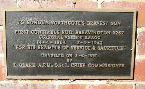 Corporal Rod Breavington : 13-May-2012