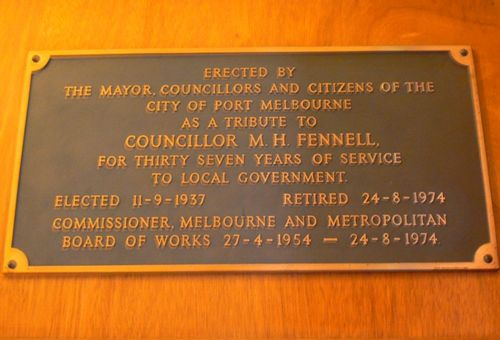 Councillor M. H. Fennell
