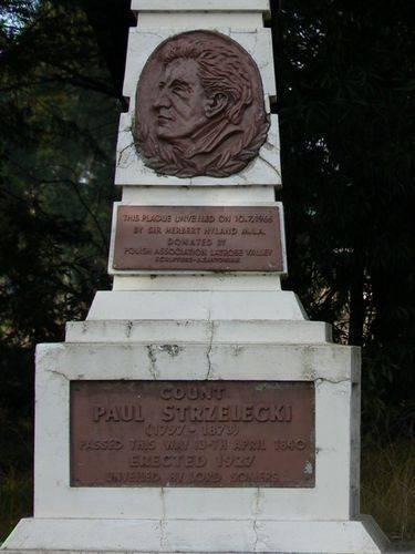 Count Paul Edmund de Strzelecki