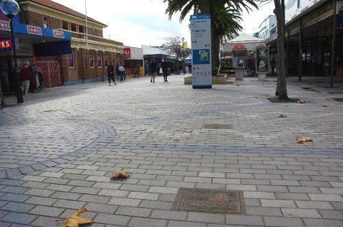 Cronulla Mall Lost Ships Plaques