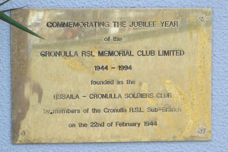 Jubilee Plaque : September-2014