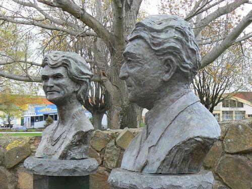 Dame Enid + Joseph Lyons