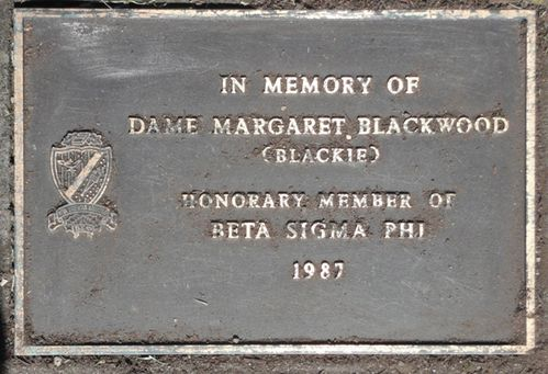 Dame Margaret Blackwood : 07-December-2011