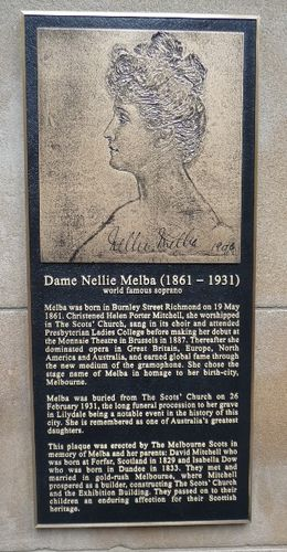 Dame Nellie Melba : 19-May-2011