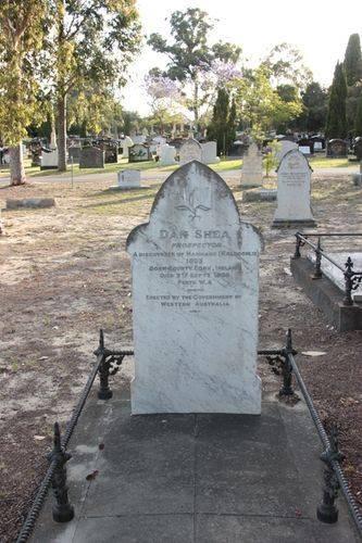 Dan Shea Headstone : 12-November-2011