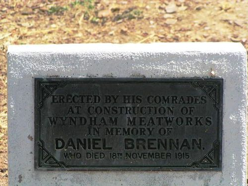 Daniel Brennan Plaque