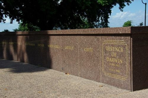 Darwin Cenotaph Campaign Wall / May 2013