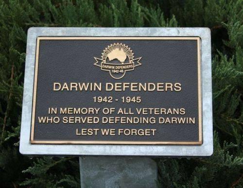 Darwin Defenders : 14-October-2012