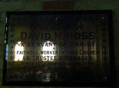 David M. Ross : 14-July-2012