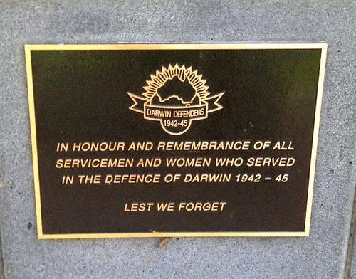Defence of Darwin : November 2013