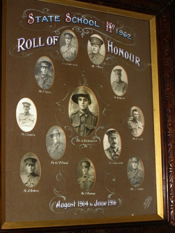 Photographic Honour Roll : 17-October-2014