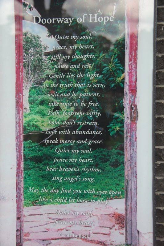 Doorway of Hope : 08-September-2014