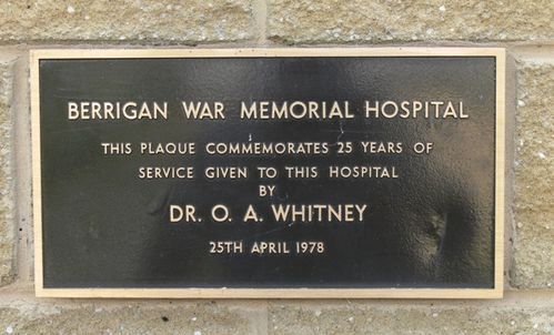 Dr. O. A. Whitney : 16-May-2013