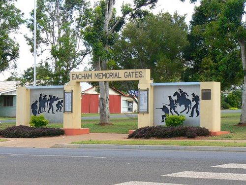 Eacham Memorial Gates