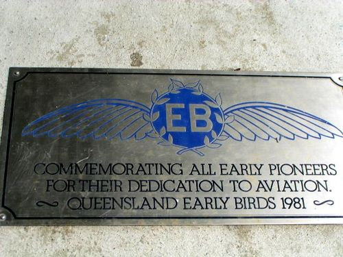 Early Birds Plaque