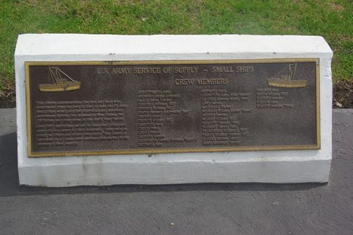 Small Ships Plaque : November 2013