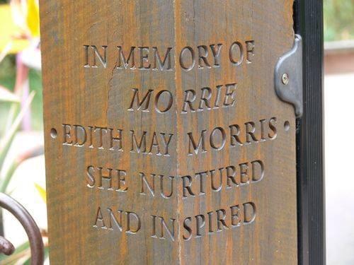 Edith May Morris : 16-November-2011
