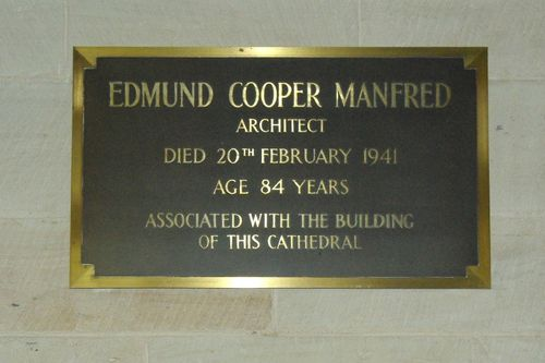 Edmund Manfred Plaque : 17-May-2014