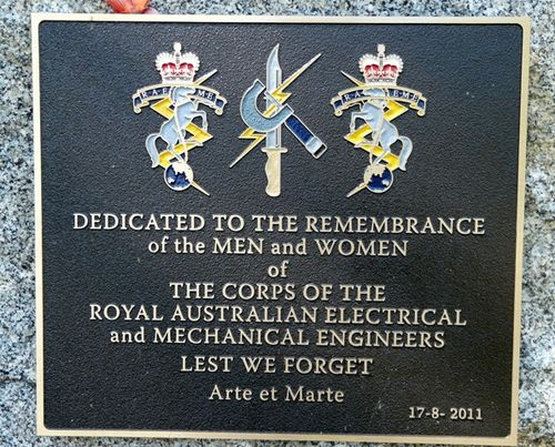 Electrical & Mechanical Engineers Plaque : 21-February-2012
