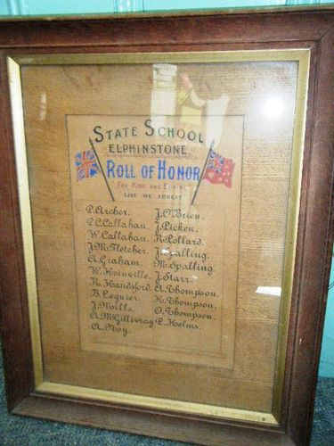 Elphinstone State School Honour Roll : 09-June-2013