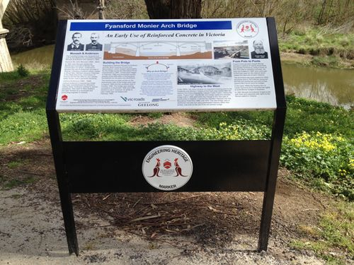 Engineering Heritage Marker-Fyansford Monier Arch Bridge : 16-09-2013