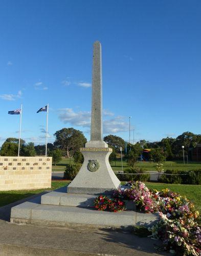 Epping RSL War Memorial : 28-April-2012