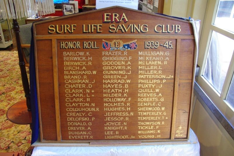 Era SLSC Honour Roll : October -2014