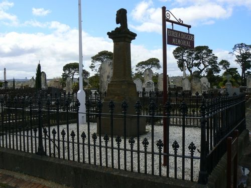 Eureka Diggers Memorial : 09-October-2011